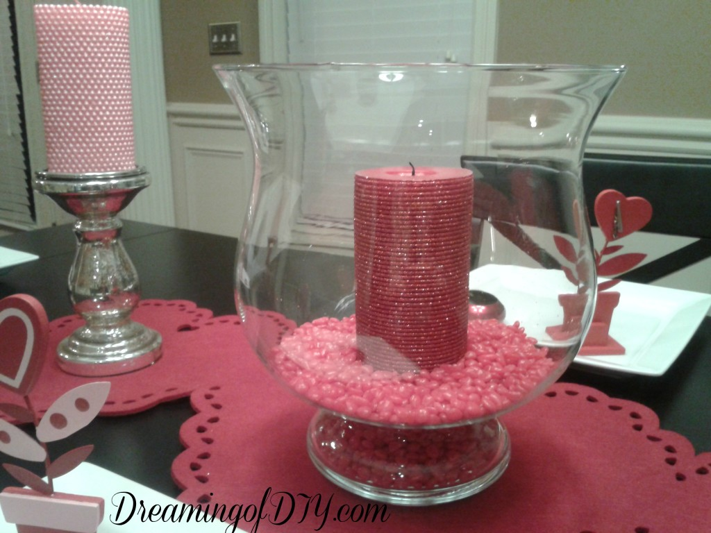 red hots, valentine decorations